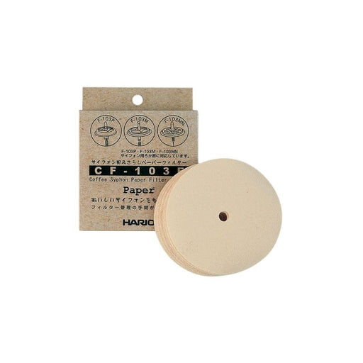 Hario Coffee Syphon Filter Papers (100 pack)
