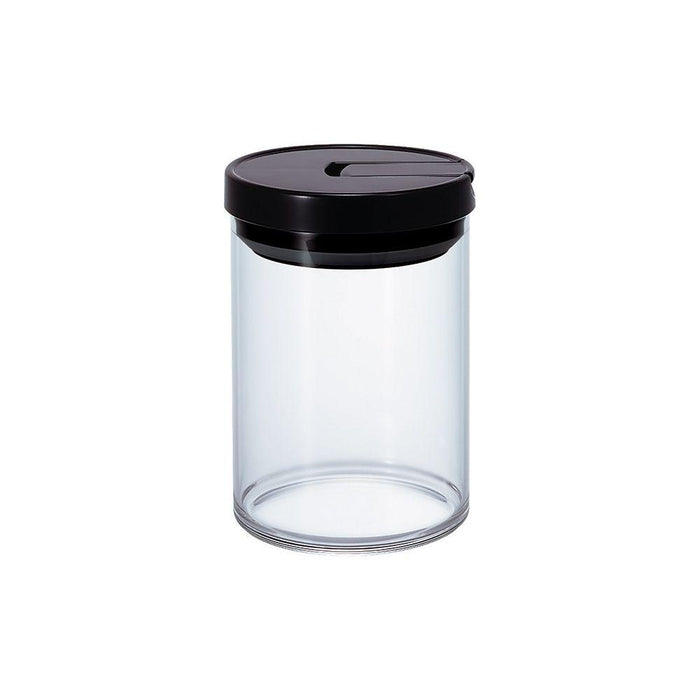 Hario Glass Coffee Bean Canister (Black) 800ml