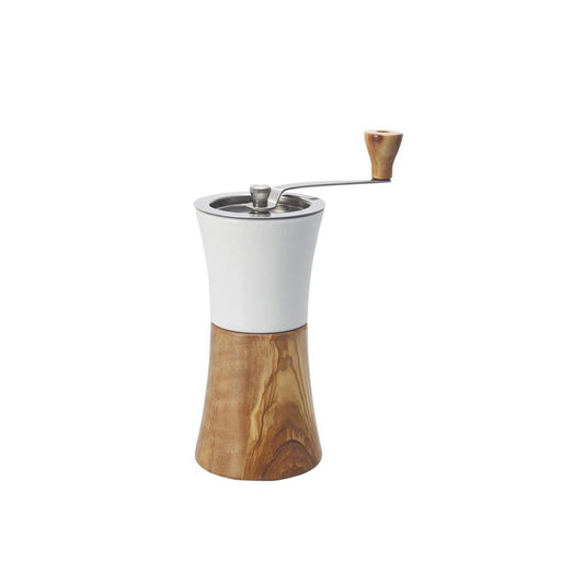 Hario Ceramic Olive Wood Coffee Grinder