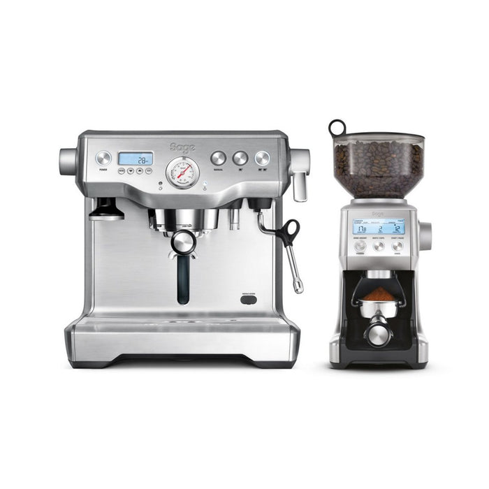 Sage the Dynamic Duo Espresso Machine and Coffee Grinder