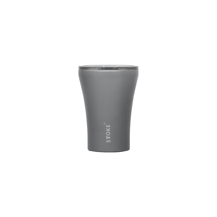 Sttoke Reusable Coffee Cup 8oz (Slated Grey)