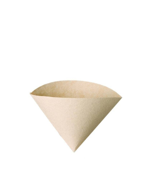 Hario V60 Coffee Filter Papers Size 01 - Brown - (100 Pack Boxed)
