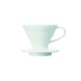 Hario V60 Ceramic Coffee Dripper White - Size 01