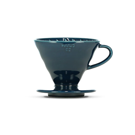 Hario V60 Ceramic Coffee Dripper Indigo Blue - Size 02