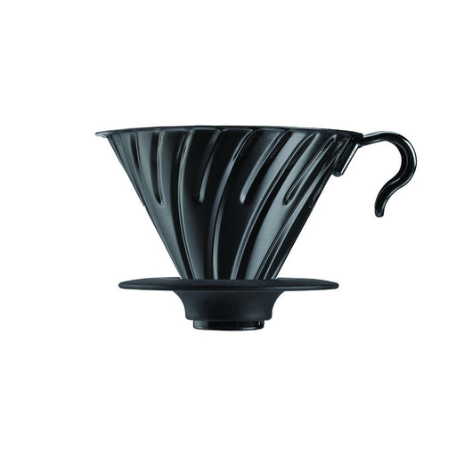 Hario V60 Metal Coffee Dripper Matte Black - Size 02