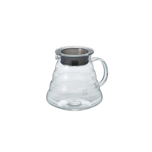 Hario Bloom V60 Glass Range Coffee Server (Clear) 600ml