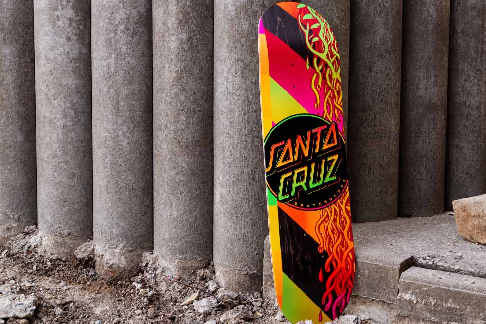 SANTA CRUZ VX SKATEBOARD DECK SKATE TEST