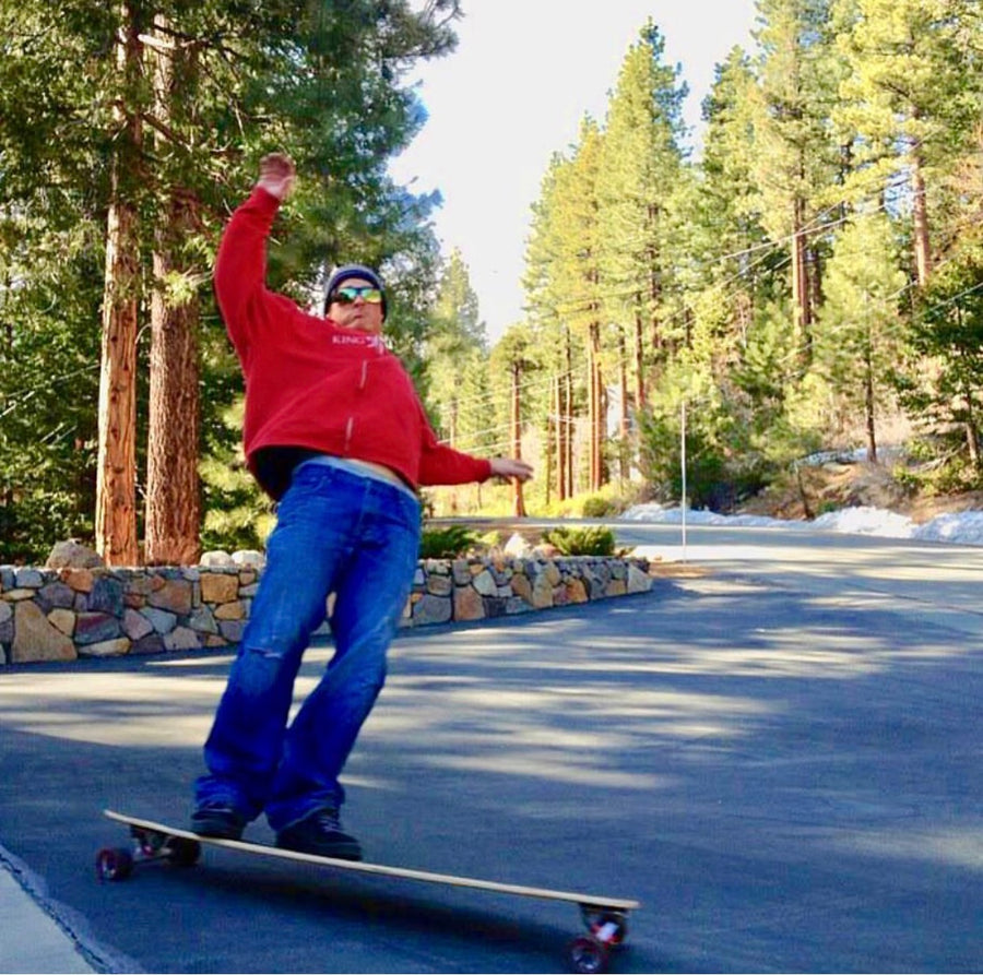 Tahoe Tallac Grizzly deck