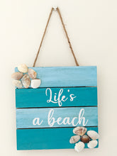 Load image into Gallery viewer, Life's a Beach Wall Art