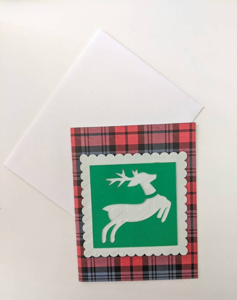 Assorted Holiday Reindeer Cards