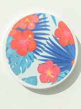 Load image into Gallery viewer, Tropical Floral Coaster