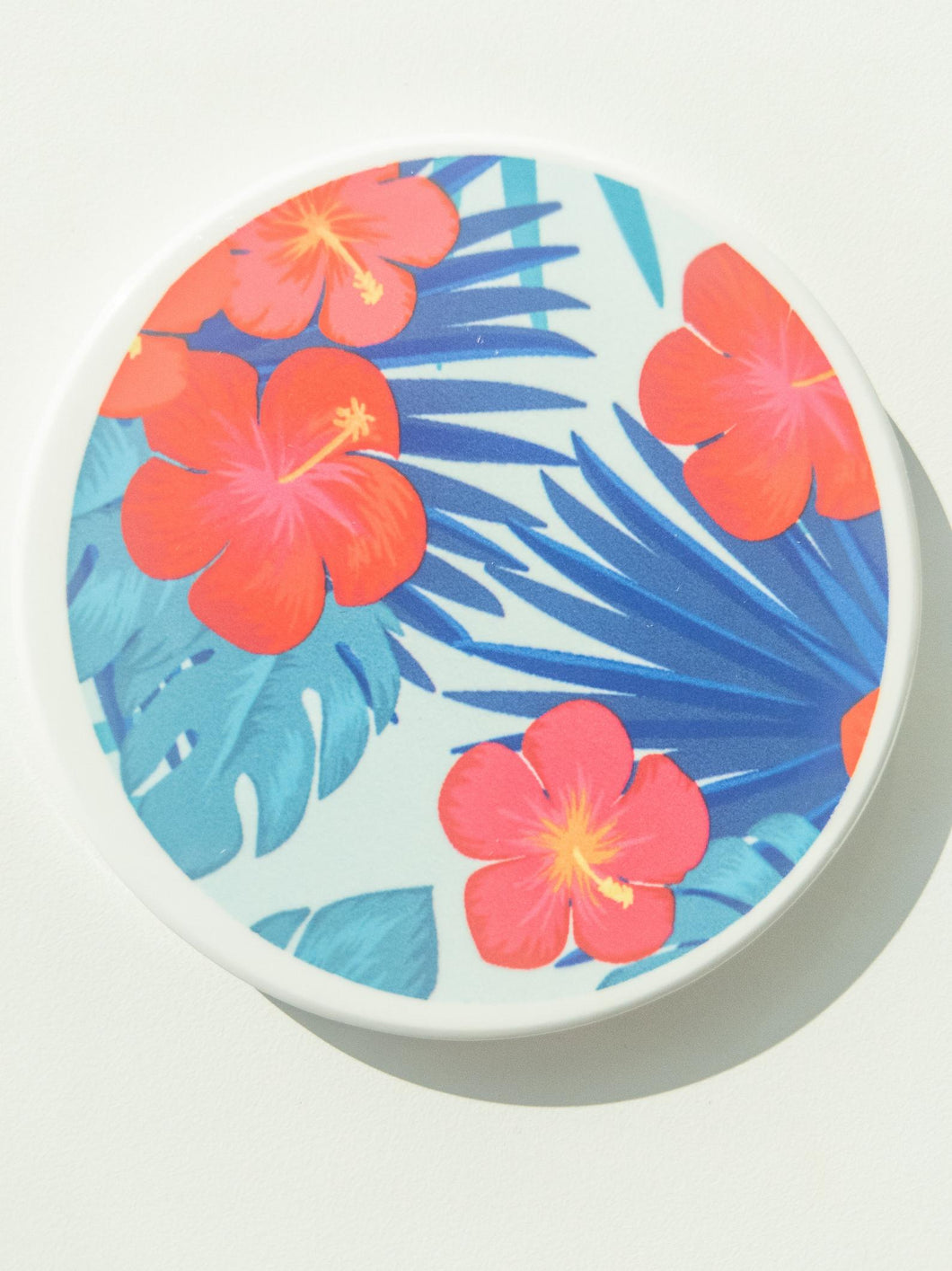 Tropical Floral Coaster