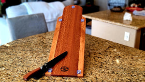 Fish Fillet Board and Matching Knife