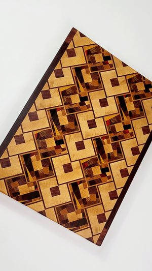 Abstract Diamond Boards