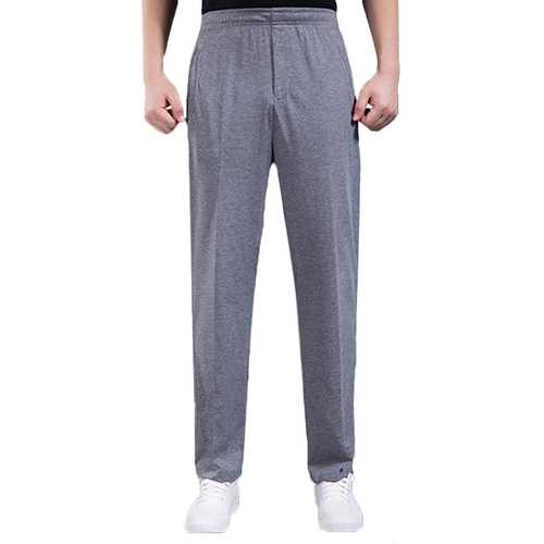 Men's Thin Elastic Sports Pants