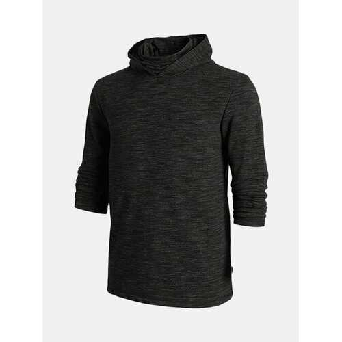 Mask Collar Design Casual Hoodies