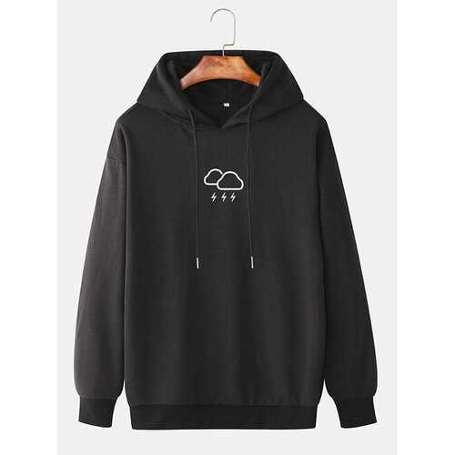Cotton Weather Printed Hoodies