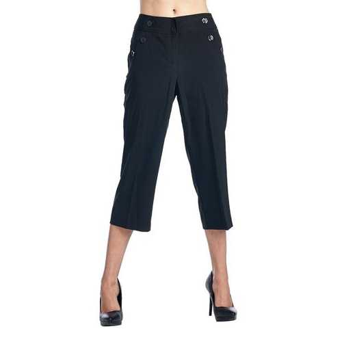 Larry Levine Stretch Capris