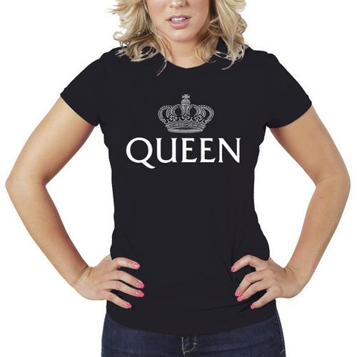 Queen Women T-Shirt Sizes S-XL