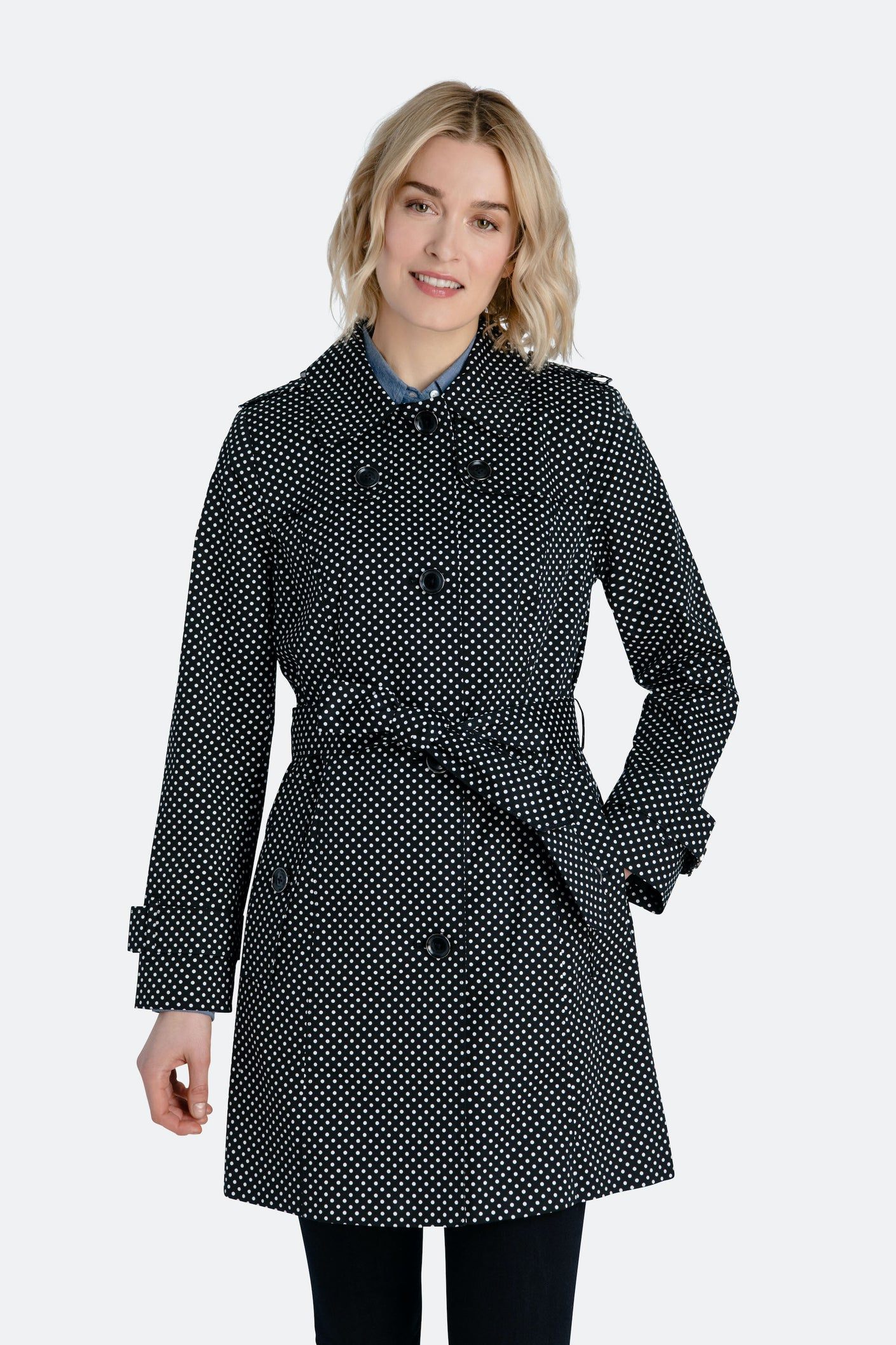 Polka Dot Trench