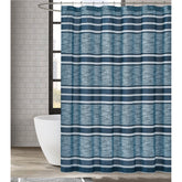 "Load image into Gallery viewer, Mitchell Stripe 72"" Square Shower Curtain"