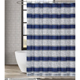 "Load image into Gallery viewer, Watkins Stripe 72"" Square Shower Curtain"