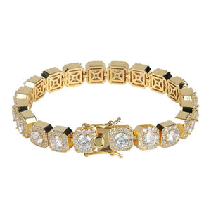 Quadrilateral Bracelet - Gold