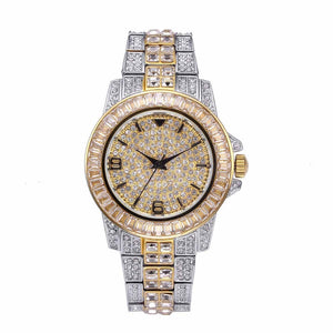 Milano watch - White Gold & Gold