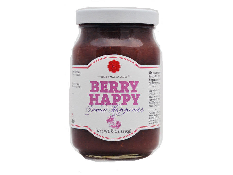 Berry Happy miel de agave orgánica 235 grs.