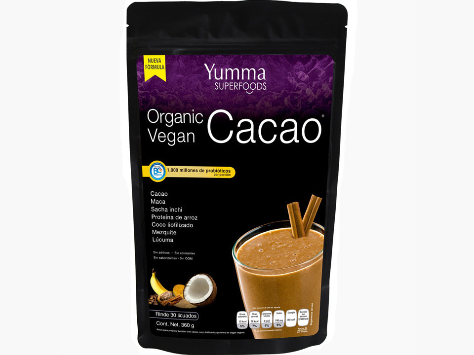Superfood Blend Cacao 360 grs.