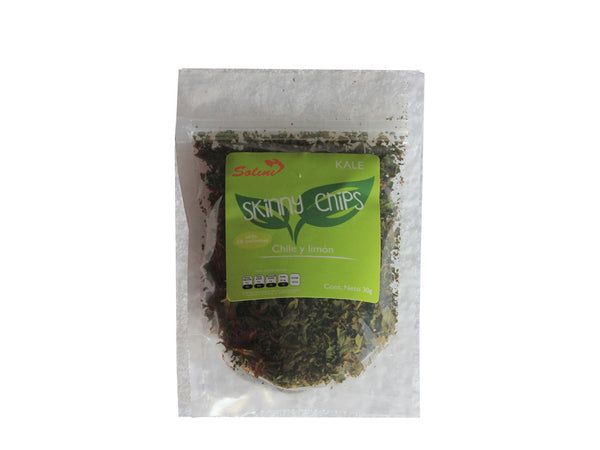 Kale chips chile limón 60 grs.