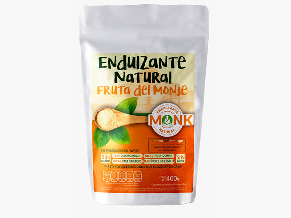 Endulzante Monk Fruit 400 grs.