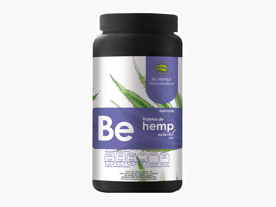 Hemp - Proteína natural 454 grs.