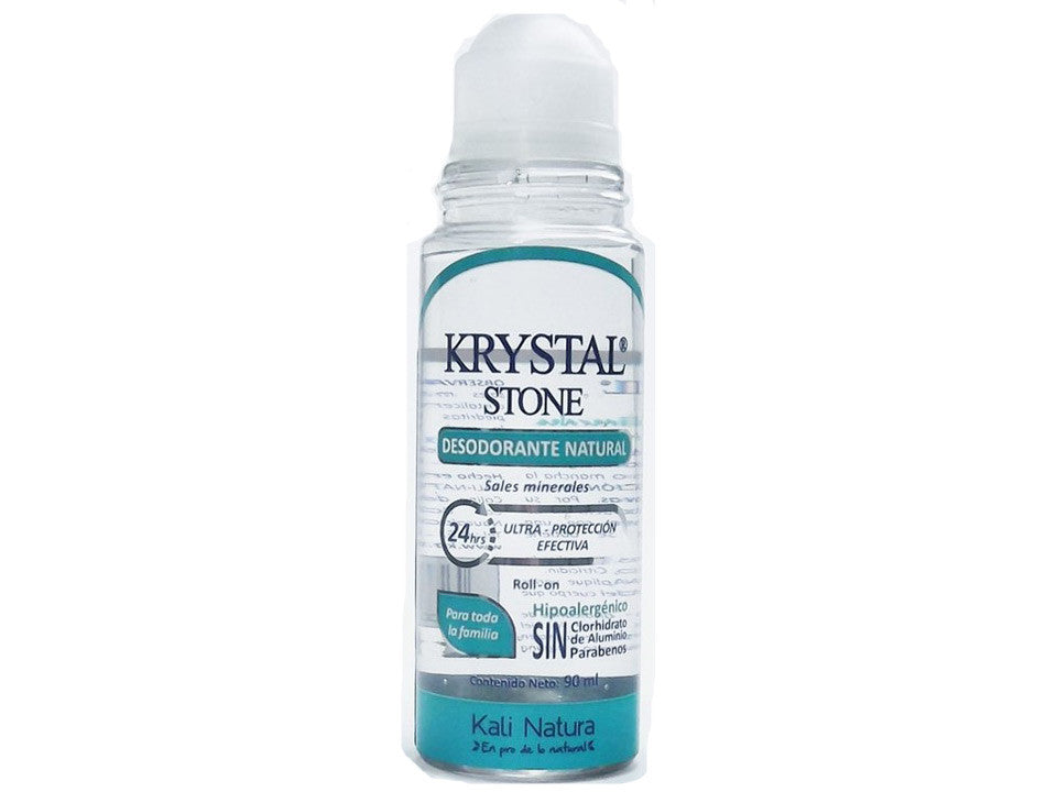 Desodorante Krystal Stone roll-on 90 ml.