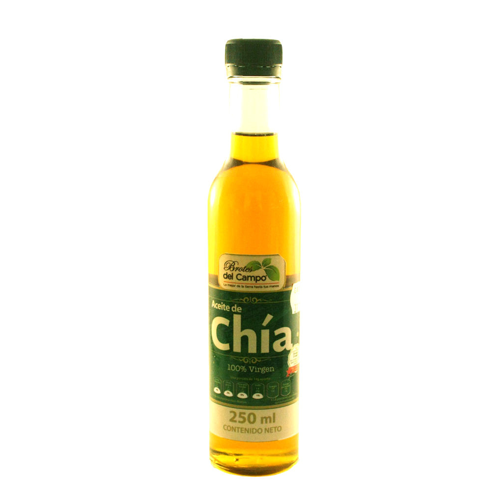 Aceite de chía 100% virgen 250 ml.