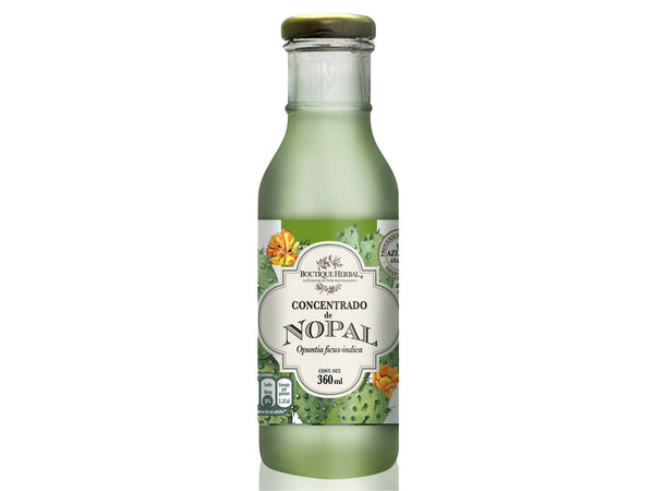 Concentrado de Nopal 360 ml.