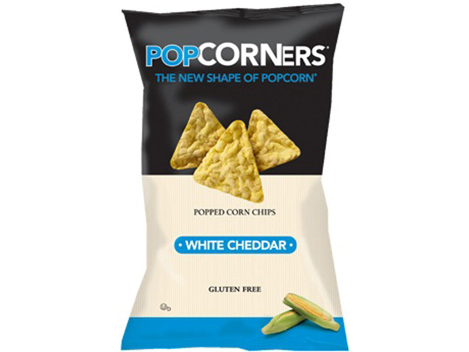 Pop Corners White Chedar 5 oz.