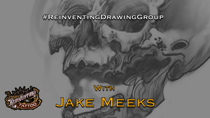#ReinventingDrawingGroup - Monday mornings with Jake Meeks