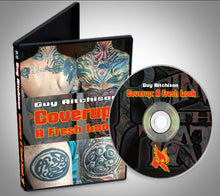 Load image into Gallery viewer, Coverup: A Fresh Look DVD - Tattoo Coverup DVD