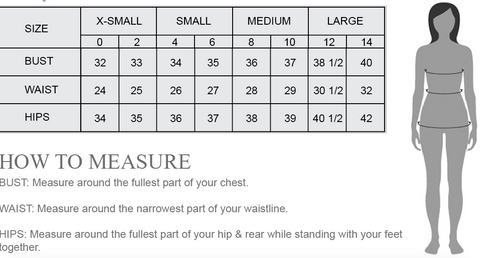 Size Guide Chart