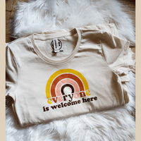 Everyone Is Welcome Here Graphic T-Shirt