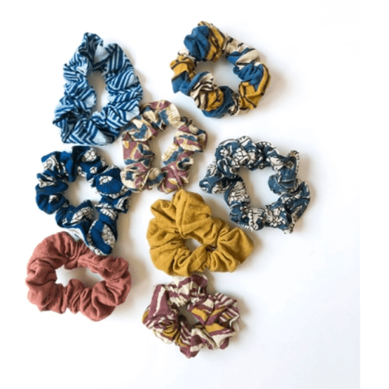 colorful scrunchies