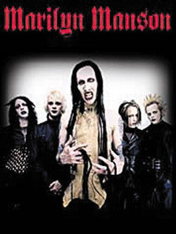 51316 Marilyn Manson Hollywood Fabric Poster – Preegle