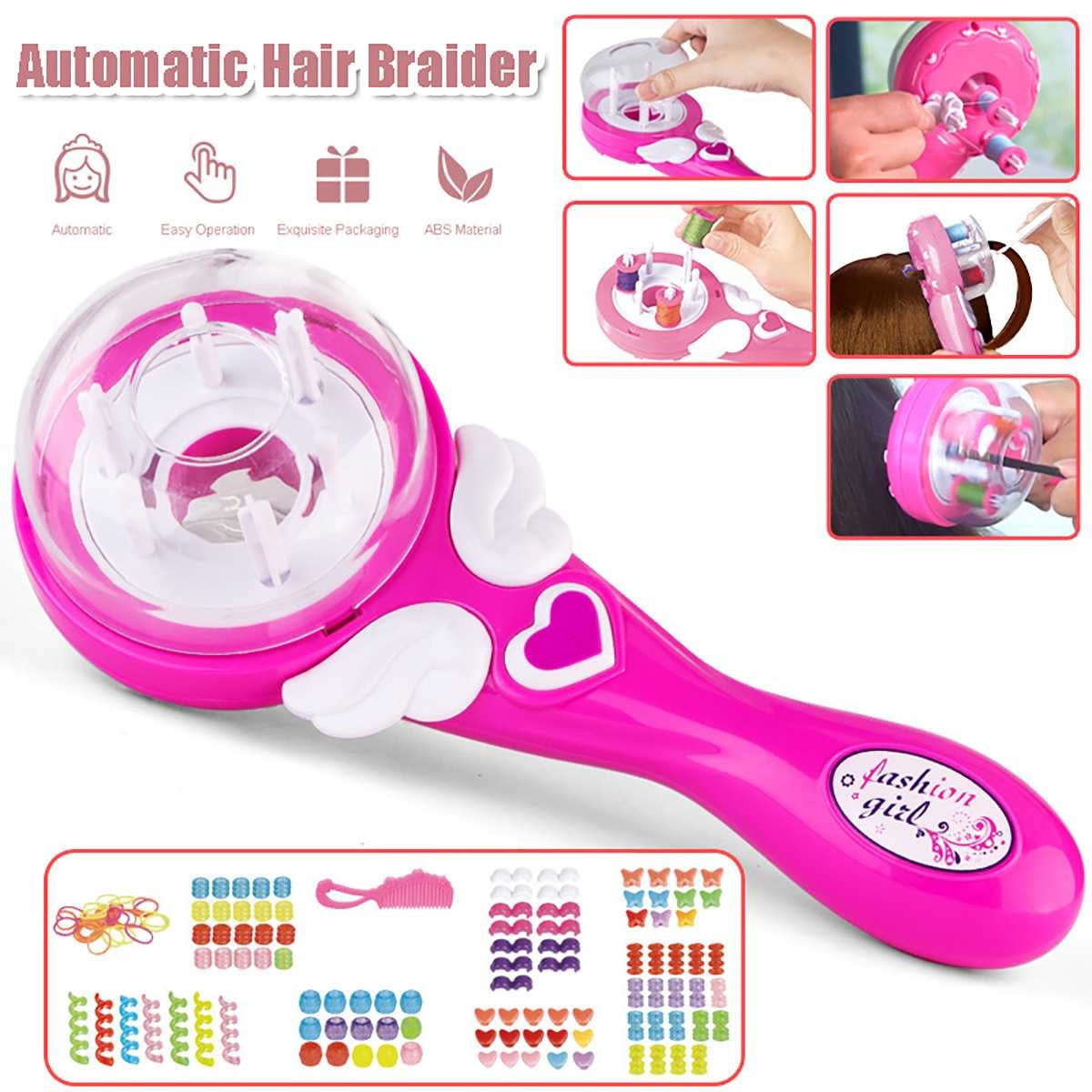 Electric Automatic DIY Hair Knitting Machine Braid Hair Tools Twist Knitting Hair Knitting Roll Twisted Xmas Girl Gift - Lordlys-Imperials