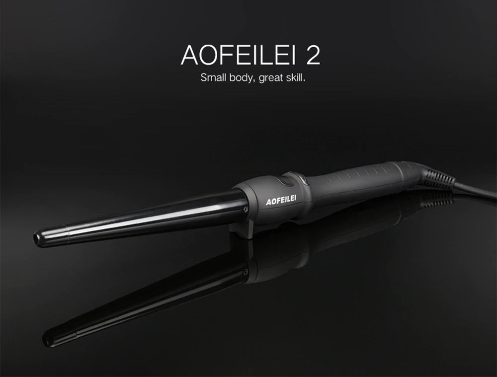 Ceramic Styling professional Hair Curling Iron Hair waver Electric Hair Curler Roller Curling Wand - Lordlys-Imperials