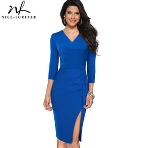 Office Work Business Party Bodycon Women Dress - Lordlys-Imperials