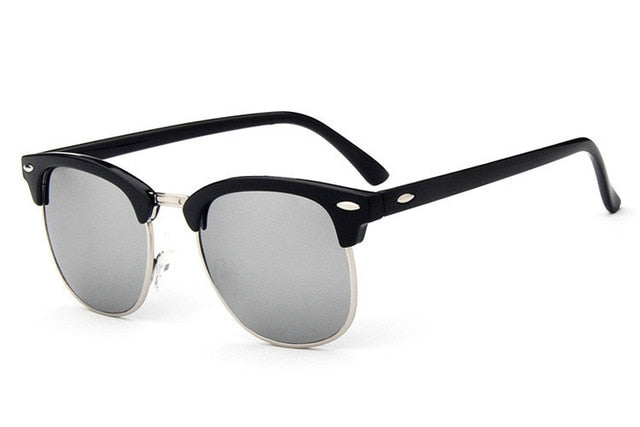 Retro Rivet High Quality Sunglasses For Men & Women - Lordlys-Imperials