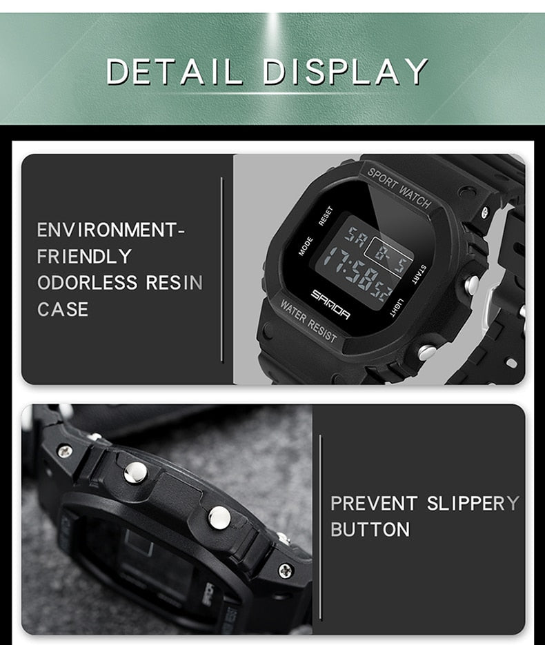 G Style Digital Watch Electronic Relogio - Lordlys-Imperials