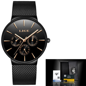 Super Slim Mesh Stainless Steel 2020 Watch For Women - Lordlys-Imperials