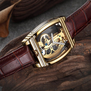 Transparent Skeleton Luxury Men's Watch - Lordlys-Imperials
